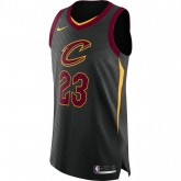 Maillot Lebron James Cleveland Cavaliers Statement Edition Authentic Noir Pas Chère