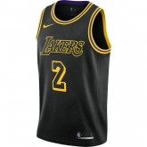 Maillot Lonzo Ball City Edition Swingman Los Angeles Lakers Noir soldes