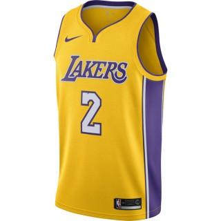 Maillot Lonzo Ball Icon Edition Swingman los Angeles Lakers Jaune Remise Paris en ligne