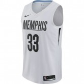 Maillot Marc Gasol City Edition Memphis Grizzlies Swingman Blanc Original