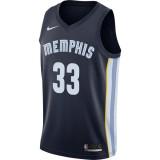 Maillot Marc Gasol Memphis Grizzlies Icon Edition Swingman Bleu Vendre Lyon