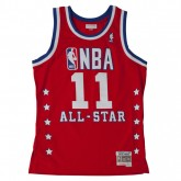 Maillot NBA Al-Star Isiah Thomas 1989 East Swingman Mitchell&Ness Rouge Magasin Paris