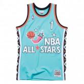 Maillot NBA All-Star Anfernee Hardaway 1996 East Swingman Mitchell&Ness Bleu Vendre Cannes