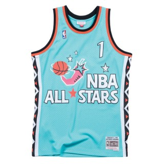 Maillot NBA All-Star Anfernee Hardaway 1996 East Swingman Mitchell&Ness Bleu Vendre Cannes