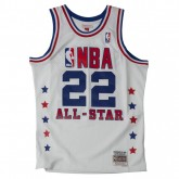 Maillot NBA All-Star Clyde Drexler 1989 West Swingman Mitchell&Ness Blanc Soldes Marseille