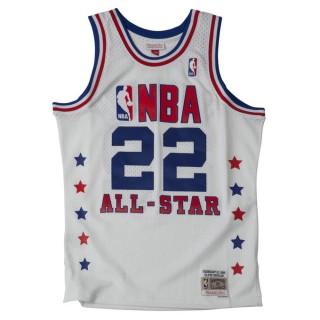 Maillot NBA All-Star Clyde Drexler 1989 West Swingman Mitchell&Ness Blanc Soldes Marseille