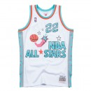 Maillot NBA All-Star Clyde Drexler 1996 West Swingman Mitchell&Ness Blanc Magasin Lyon