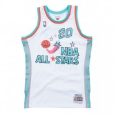 La Collection 2018 Maillot NBA All-Star Gary Payton 1996 West Swingman Mitchell&Ness Blanc