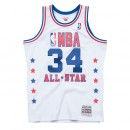 Maillot NBA All-Star Hakeem Olajuwon 1989 West Swingman Mitchell&Ness Blanc Promo Prix Paris