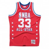 Maillot NBA All-Star Patrick Ewing 1989 East Swingman Mitchell&Ness Rouge Rabais Paris