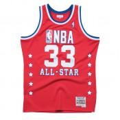 Maillot NBA All-Star Patrick Ewing 1989 East Swingman Mitchell&Ness Rouge Rabais Paris