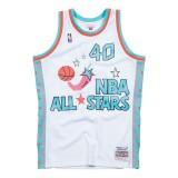 Maillot NBA All-Star Shawn Kemp 1996 West Swingman Mitchell&Ness Blanc à Vendre