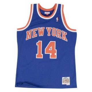Maillot NBA Anthony Mason New-York Knicks 1991-92 Swingman Mitchell&Ness Royal Bleu Pas Cher Provence