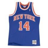 Maillot NBA Anthony Mason New-York Knicks 1991-92 Swingman Mitchell&Ness Royal Bleu Magasin Paris