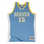 Achat Nouveau Maillot NBA Carmelo Anthony Denver Nuggets 2003-04 Swingman Mitchell&Ness Bleu