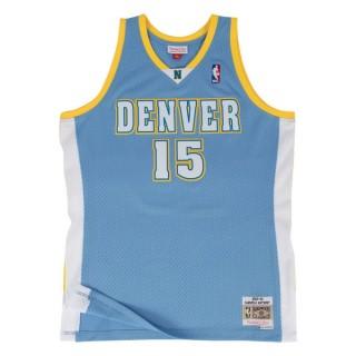 Achat Nouveau Maillot NBA Carmelo Anthony Denver Nuggets 2003-04 Swingman Mitchell&Ness Bleu