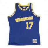 Maillot NBA Chris Mullin Golden State Warriors 1993-94 Swingman Mitchell&Ness Bleu Promotions