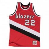 Maillot NBA Clyde Drexler Portland Trail Blazers 1983-84 Swingman Mitchell&Ness Rouge Prix En Gros