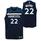 Maillot NBA Enfant Andrew Wiggins Minnesota Timberwolves Swingman Icon Bleu Rabais prix