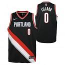 Boutique officielle Maillot NBA Enfant Damian Lillard Portland Trailblazers Swingman Icon Noir