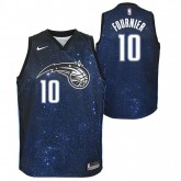 Maillot NBA Enfant Evan Fournier City Edition Orlando Magic Swingman Bleu Pas Cher Nice