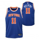 Maillot NBA Enfant Frank Ntilikina New York Knicks Swingman Icon Bleu Boutique France