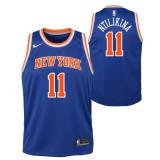 Maillot NBA Enfant Frank Ntilikina New York Knicks Swingman Icon Bleu Boutique France
