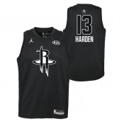 Maillot NBA Enfant James Harden All Star Swingman Jordan Noir Vente En Ligne
