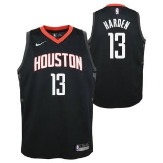 Maillot NBA Enfant James Harden Houston Rockets Swingman Statement Noir Achat à Prix Bas