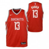 Rabais Maillot NBA Enfant James Harden Swingman Icon Rouge