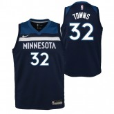 Officielle Maillot NBA Enfant Karl-Anthony Towns Minnesota Timberwolves Swingman Icon Bleu