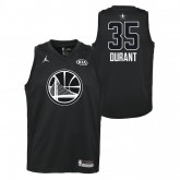 Maillot NBA Enfant Kevin Durant All Star Warriors Swingman Jordan Noir Bonnes Affaires