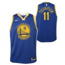 Maillot NBA Enfant Klay Thompson GS Warriors Swingman Icon Bleu Soldes France