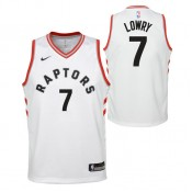 Achat de Maillot NBA Enfant Kyle Lowry Toronto Raptors Association Swingman Rouge