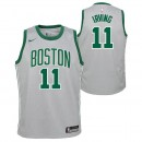 Vente Privee Maillot NBA Enfant Kyrie Irving City Edition Celtics Swingman Gris