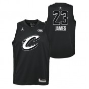 Maillot NBA Enfant LeBron James All Star Swingman Jordan Noir Magasin De Sortie