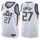 Maillot NBA Enfant Rudy Gobert Utah Jazz Swingman Association Blanc Pas Chère