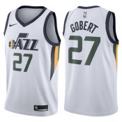 Maillot NBA Enfant Rudy Gobert Utah Jazz Swingman Association Blanc Pas Chère