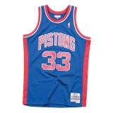 Maillot NBA Grant Hill Detroit Pistons 1995-96 33 Swingman Mitchell&Ness Bleu Boutique