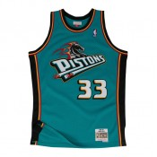 Maillot NBA Grant Hill Detroit Pistons 1998-99 Swingman Mitchell&Ness Vert Paris Boutique