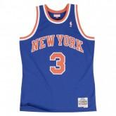 Maillot NBA John Starks New-York Knicks 1991-92 Swingman Mitchell&Ness Bleu Soldes Marseille