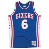 Maillot NBA Julius Erving Philadelphia 76ers 1976-77 Swingman Mitchell&Ness Rouge la Vente à Bas Prix