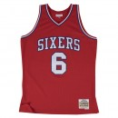 En ligne Maillot NBA Julius Erving Philadelphia 76ers 1982-83 Swingman Mitchell&Ness Rouge