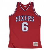 En ligne Maillot NBA Julius Erving Philadelphia 76ers 1982-83 Swingman Mitchell&Ness Rouge