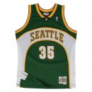 Solde Maillot NBA Kevin Durant Seattle Sonics 2007-08 Swingman Mitchell&Ness Vert