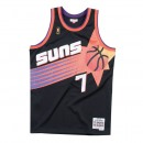 Maillot NBA Kevin Johnson Phoenix Suns 1996-97 Swingman Mitchell&Ness Noir Rabais Paris