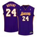 Achat de Maillot NBA Kobe Bryant LA Lakers replica away adidas Violet