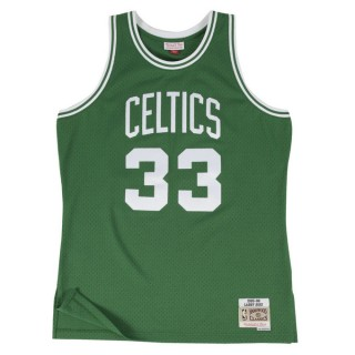 Prix Maillot NBA Larry Bird Boston Celtics 1985-86 Swingman Mitchell&Ness Vert