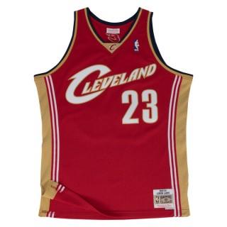Vente Nouveau Maillot NBA LeBron James Cleveland Cavaliers 2003-04 Swingman Mitchell&Ness Rouge