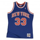 Maillot NBA Patrick Ewing New York Knicks 1991-92 Swingman Mitchell&Ness Bleu Bonnes Affaires
